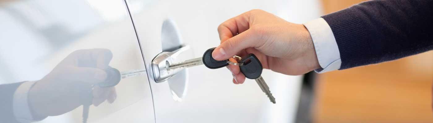 Key in Car